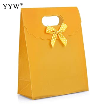Amazon.com: JEWH – Bolsa de regalo de boda con lazo verde ...