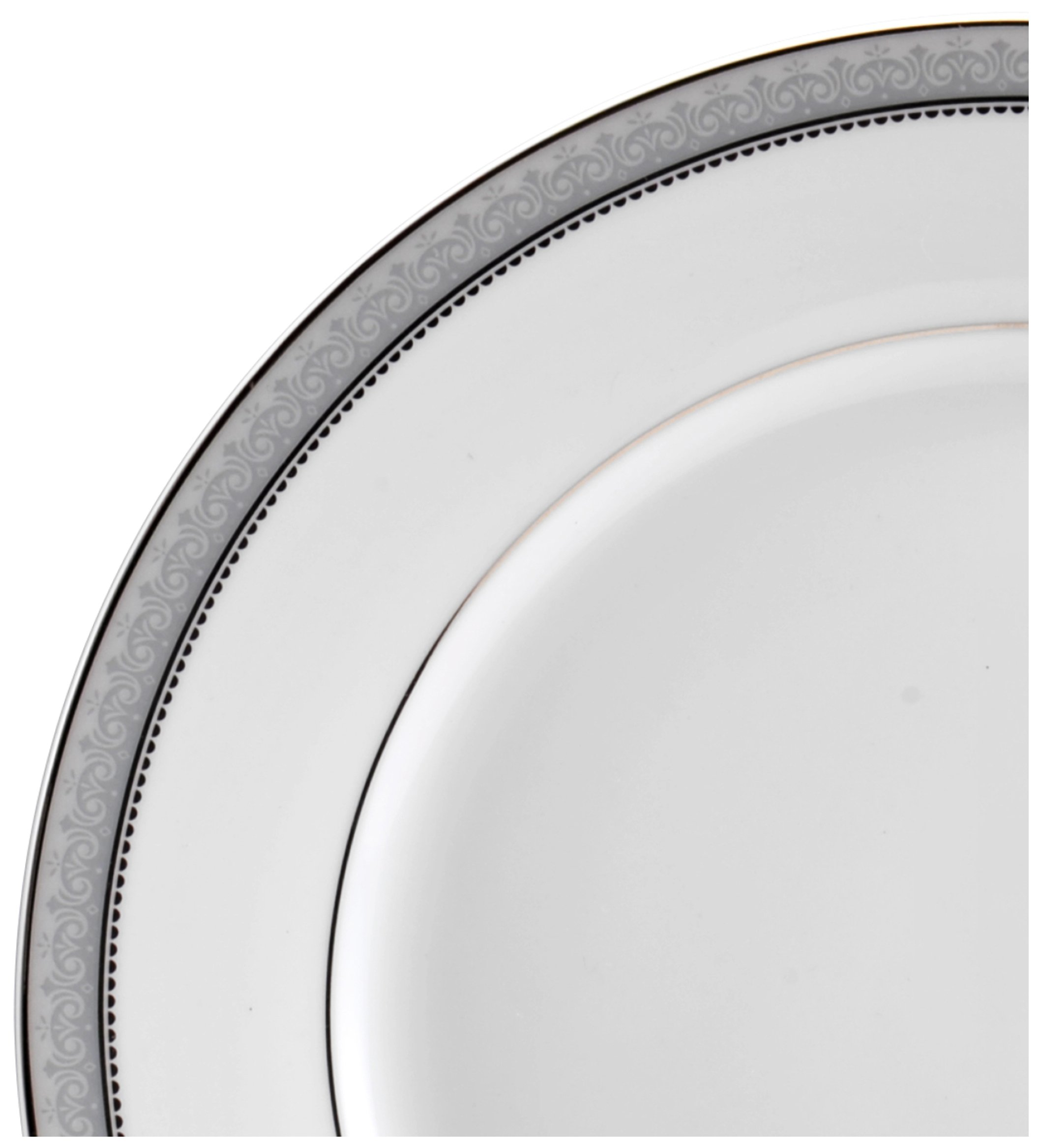 Mikasa Platinum Crown Bread and Butter Plate, 6.5-Inch