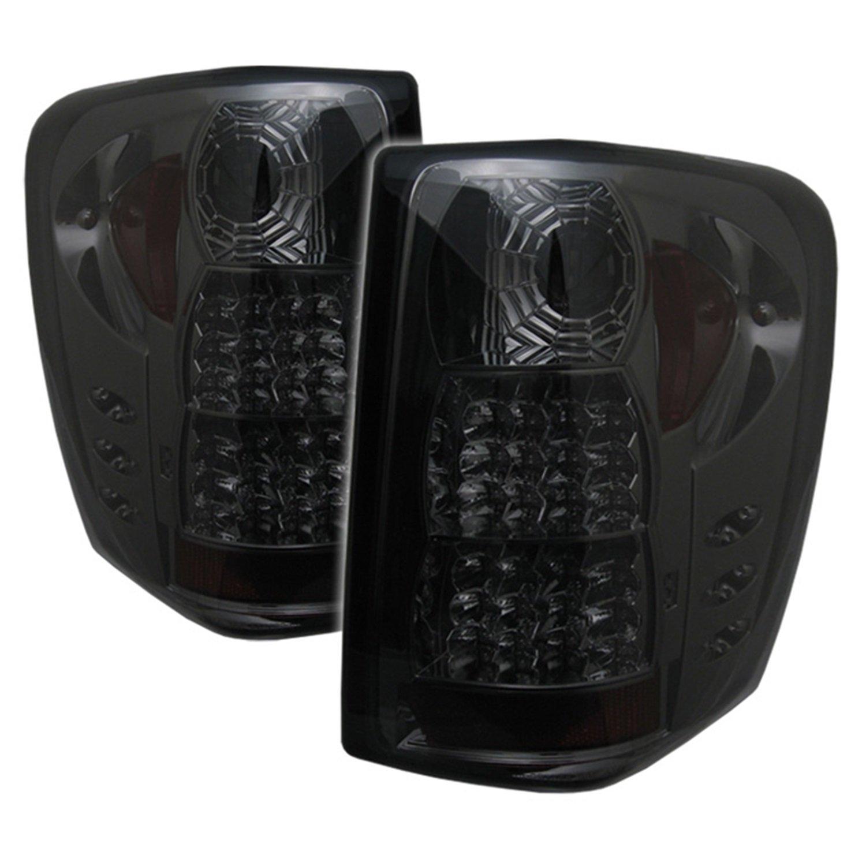 Amazon.com: Spyder Jeep Grand Cherokee 99-04 LED Tail Lights - Black:  Automotive