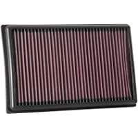K&N Engine Air Filter: High Performance, Washable, Replacement Filter: Fits 2017-2019 SEAT/SKODA/VOLKSWAGEN/AUDI (Leon…
