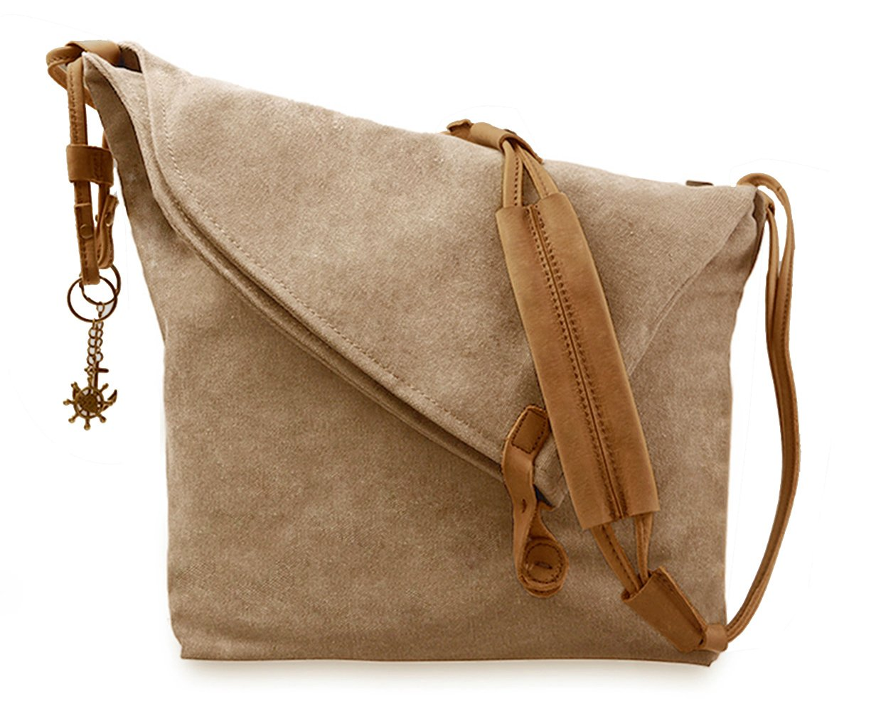 Fansela(TM) Messenger Bag, Crossbody Satchel Bag Retro Canvas Hobo Bag Oversized