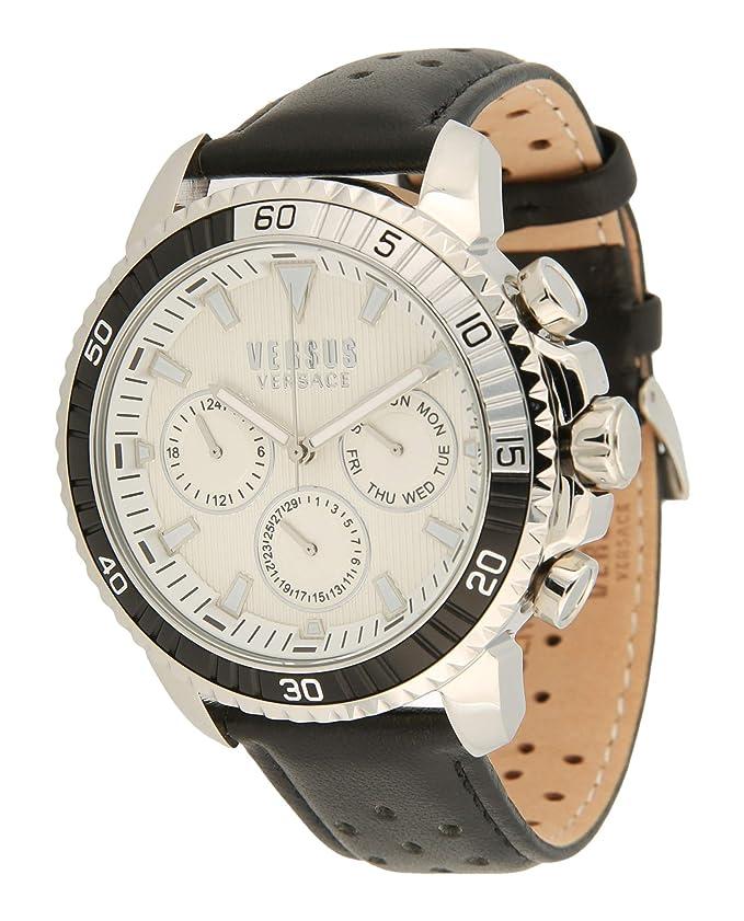 7a985fca1a60 montre chronographe Versus pour homme Aberdeen S30010017 style décontracté  cod. S30010017  Amazon.fr  Montres