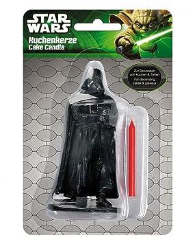 Horror-Shop Vela de la torta de Darth Vader: Amazon.es ...