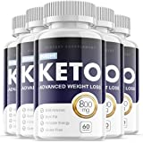 Purefit Keto Advanced Ketosis Formula Pills for Weight Management (5 Pack)