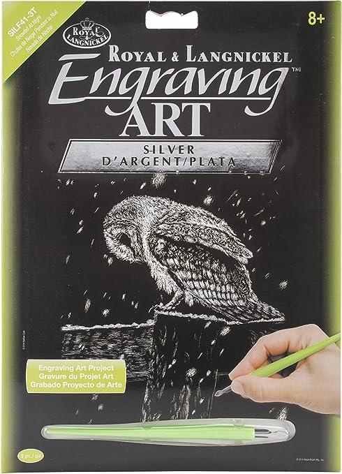 "Rainbow Foil Engraving Art Kit 8/""X10/""-Dancing Fairy"