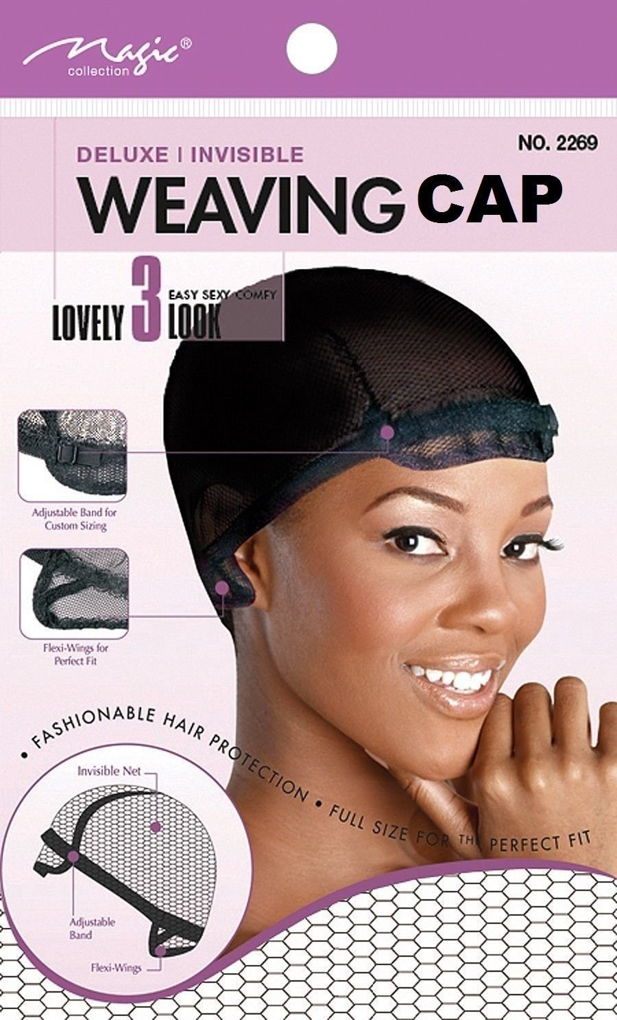 Amazon magic weaving cap deluxe extra large net adjustable amazon magic weaving cap deluxe extra large net adjustable band invisible 2269 fashionable hair protection full size perfect fit 6 pack beauty pmusecretfo Images