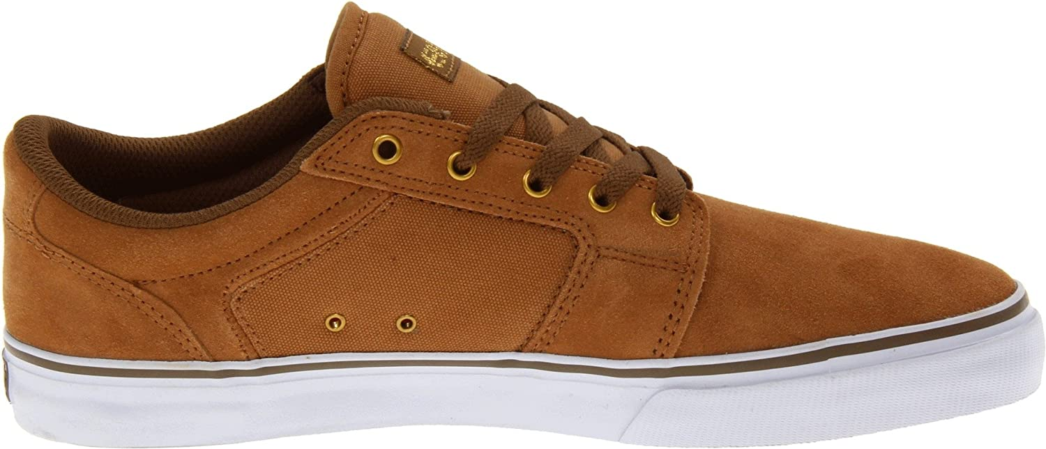 Etnies Barge LS Skate Shoe Tan/White/Gum