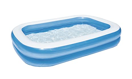 bestway toys domestic blue rectangular family pool 10591 6960 2008