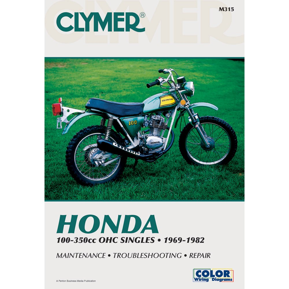 Amazon clymer honda 100 350cc manual m315 automotive fandeluxe Choice Image