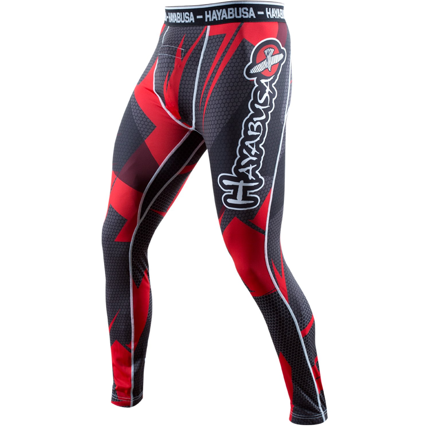 Metaru 47 Silver Compression Pants Hayabusa