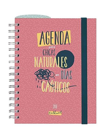 Finocam Talkual - Agenda 2018, día página, español, 155 x 215 mm, 70 g/m²