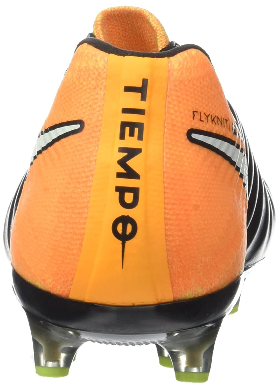 Nike Tiempo Legend VII AG-Pro, Botas de fútbol para Hombre, Negro White/Laser Orange/Volt/Black, 43 EU: Amazon.es: Zapatos y complementos