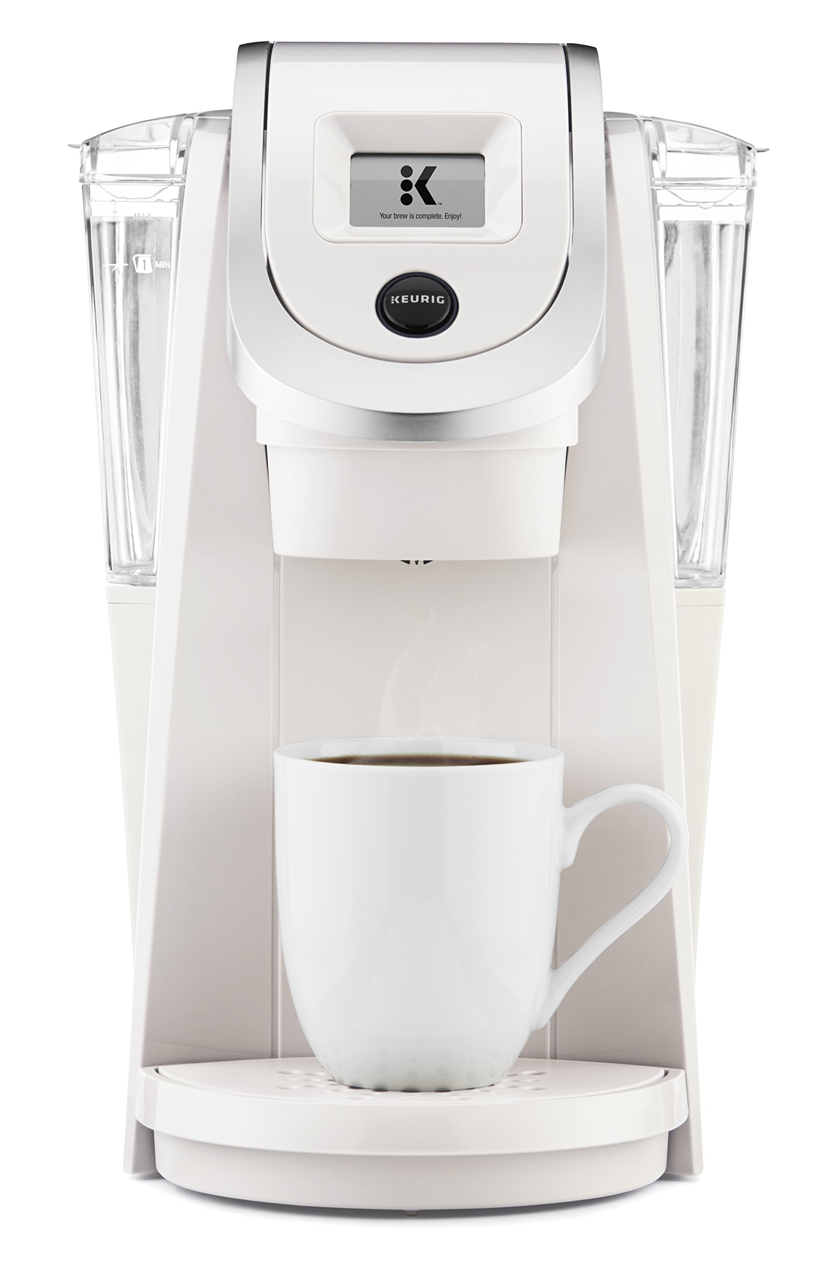 Keurig K250 Single Serve, Programmable K-Cup Pod Coffee Maker with strength control, Sandy Pearl by Keurig (Image #1)