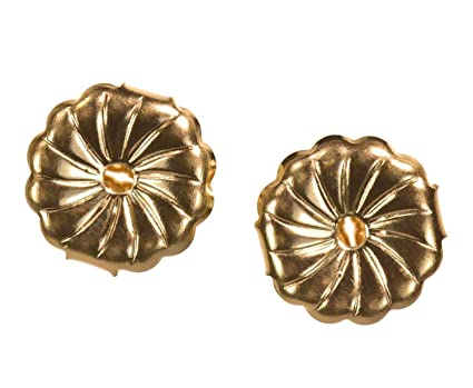 7ffd688c1 Image Unavailable. Image not available for. Color: Solid 14K Yellow Gold  Earring Backs ...