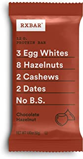 product image for RXBAR, Chocolate Hazelnut, Protein Bar, 1.83 Ounce (Pack of 24), High Protein Snack, Gluten Free