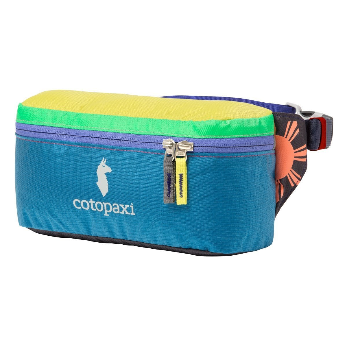 Cotopaxi Del Día Bataan 3L Fanny Pack | Hiking Waist Bag with Del Día Colorway (No Two Products Are The Same)