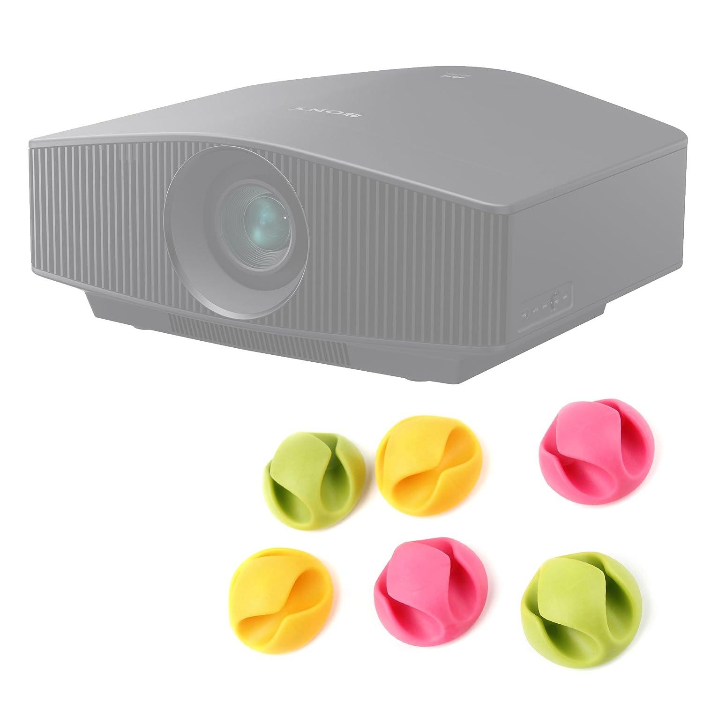 organizzatori Cables/Kit 6 Clip - Compatible con proyector JVC dla ...