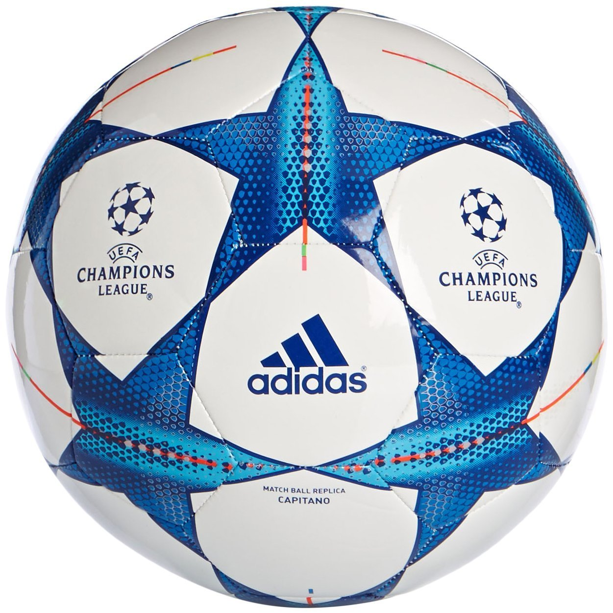 19e39e3cf Buy Adidas Fincap UEFA Champions League Football Match Ball Replica  (Multicolour) Online at Low Prices in India - Amazon.in