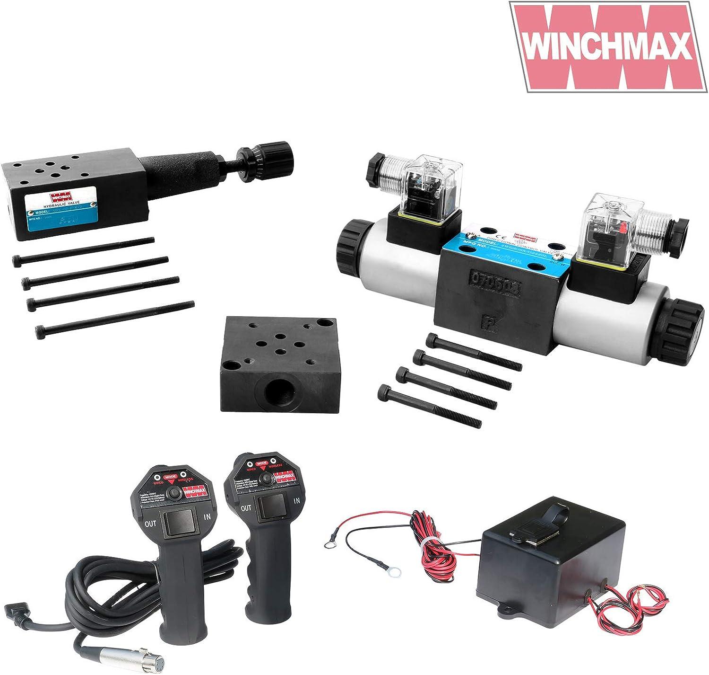Winchmax CETOP3/NG6 24v Control Direccional Hidráulico Kit Completo