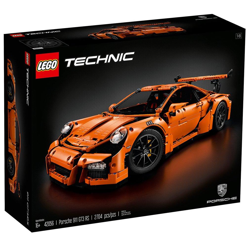 LEGO Technic Porsche 911 GT3 RS Niño 2704pieza(s) Juego de construcción - Juegos de construcción (Negro, Naranja, 16 año(s), 2704 Pieza(s), Niño, 25 cm, ...