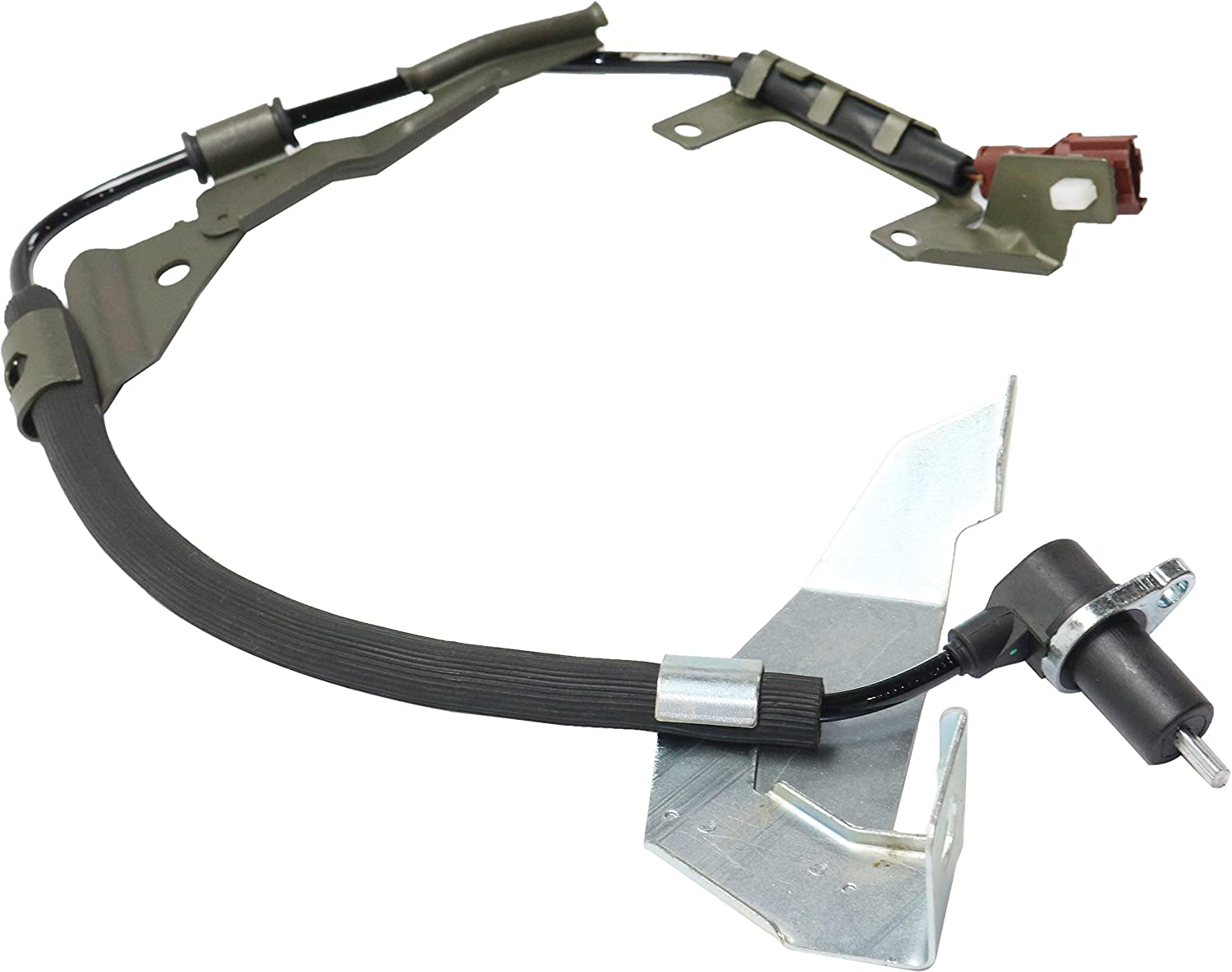 ABS Speed Sensor Compatible with 1996-1999 Acura SLX Front Left Side 2 Male Blade-Type Terminals