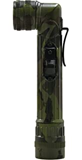 New Right Angle Torch Camouflage Military Style Torch Flashlight with filters