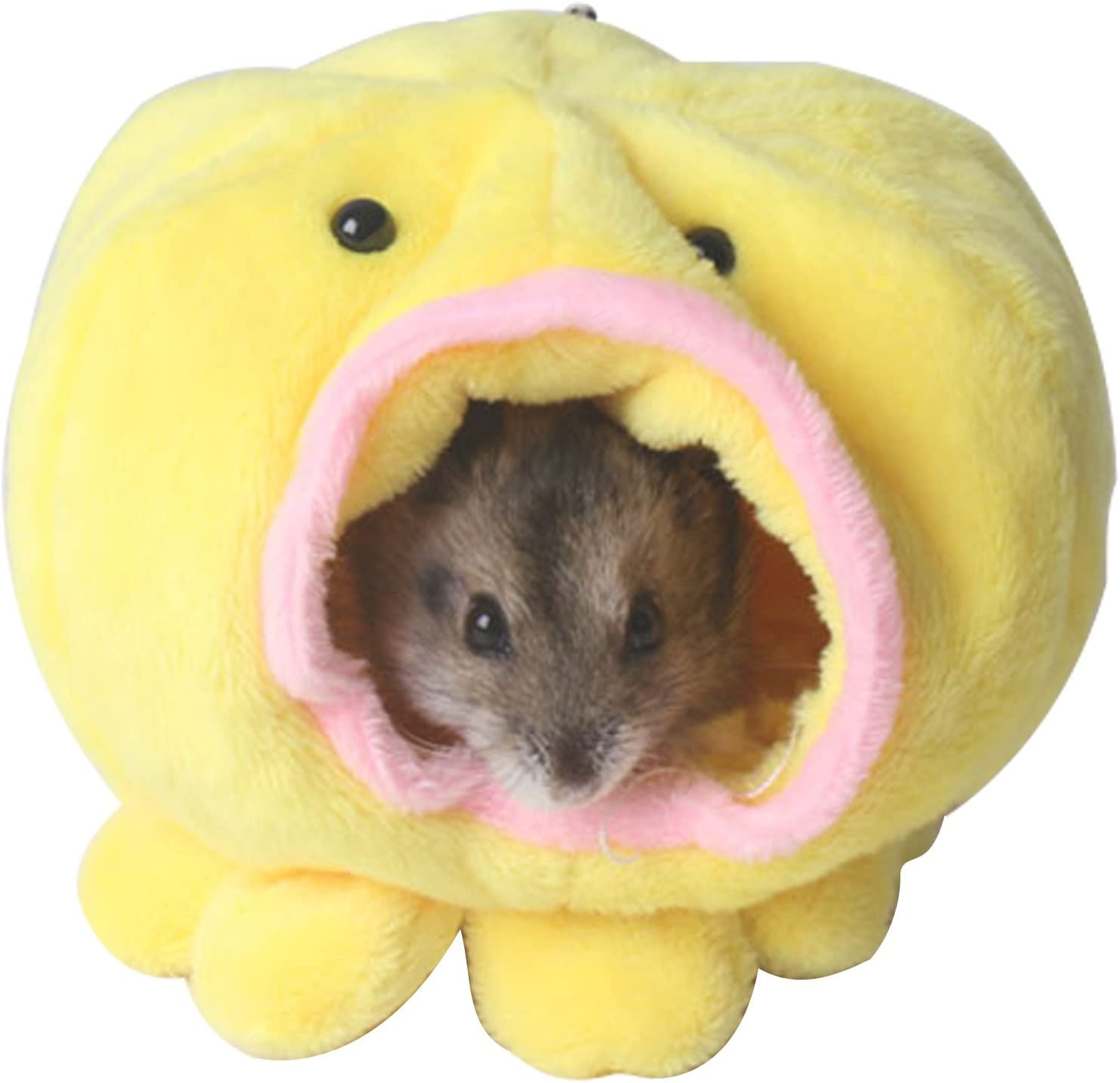 Boodtag nido de hámster de peluche algodón caliente Mignon pequeño casa para hamster cama dormir invierno: Amazon.es: Productos para mascotas