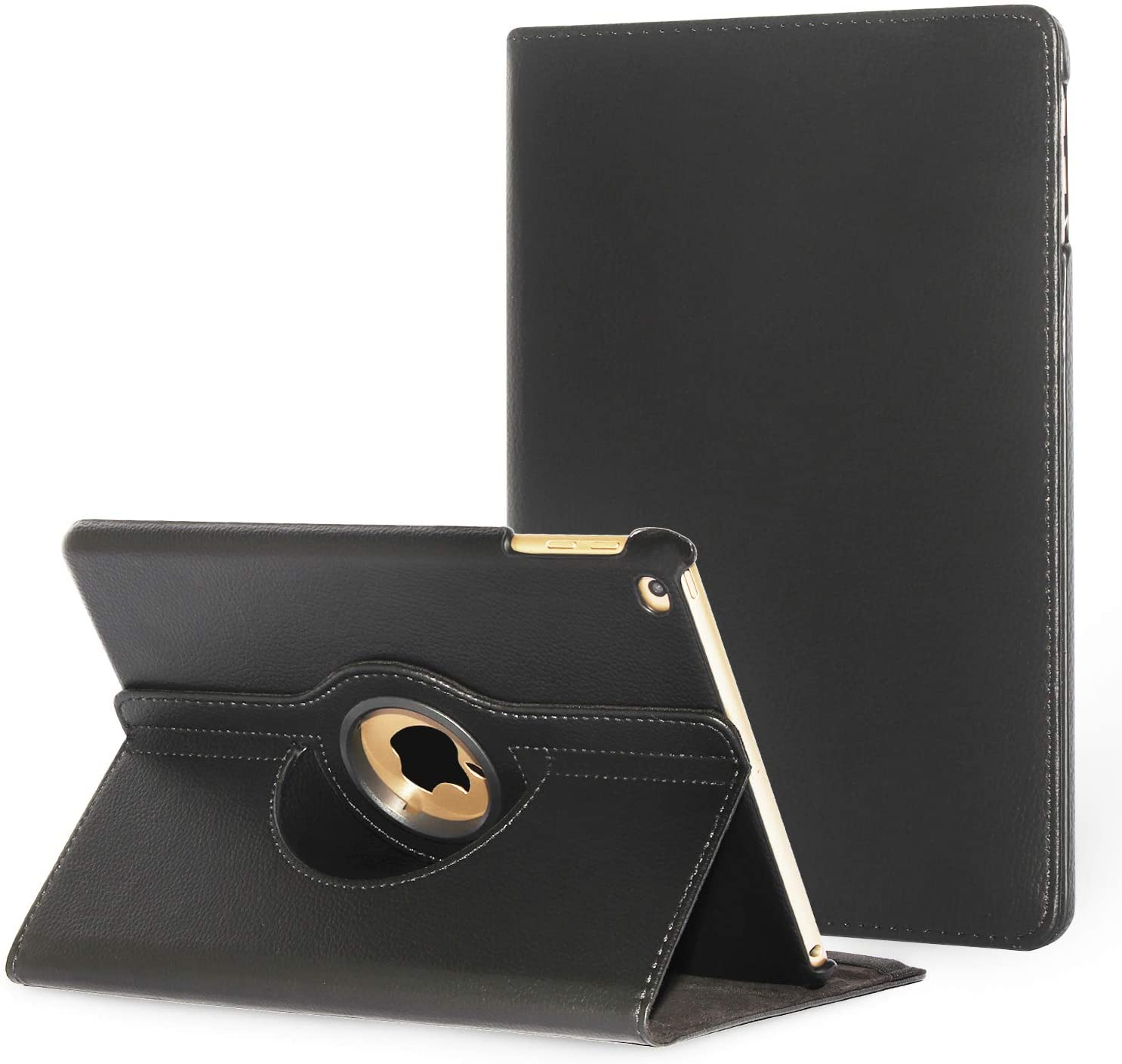 iPad Pro 9.7 2016 Case Cover,Dream Wings 360 Degrees Rotating Multi-Angle Viewing Stand Screen Protective Smart Case for Apple iPad Pro 9.7 inch 2016 Released Tablet (iPad Pro 9.7, Black)