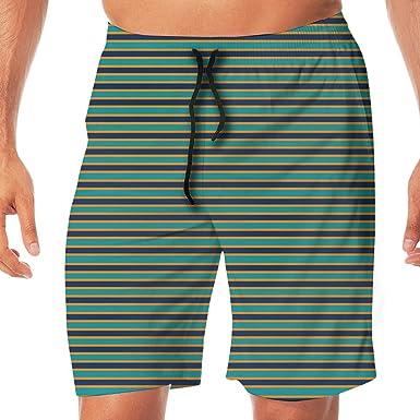 2dbc9327 Amazon.com: Mens Swim Trunks Barth Suit Miami Dolphins Breathable ...