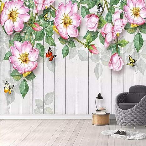 Amazoncom Xbwy Custom Mural Wallpaper Modern 3d Flowers