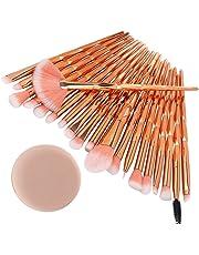 Makeup brush cleaner spinner