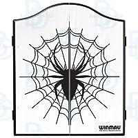 WINMAU Spider Design Unterschrank Dartscheibe.