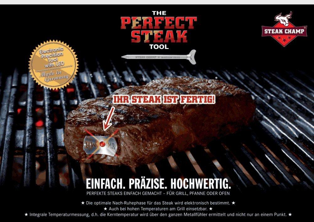 SteakChamp - Double Pack medium-rare + medium, 86mm