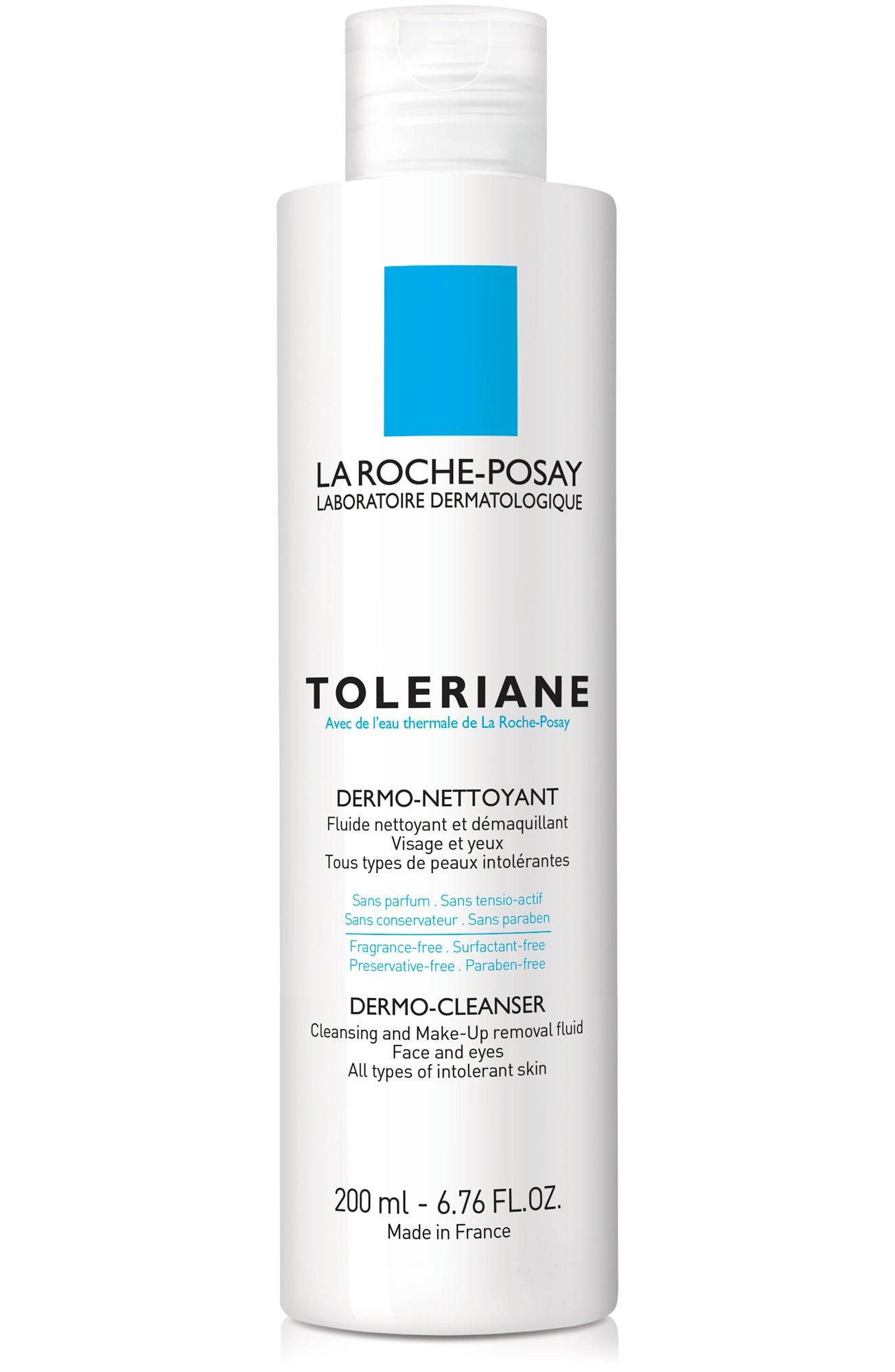 La Roche-Posay Toleriane Dermo Cleanser and Makeup Remover, 6.76 Fl. Oz. by La Roche-Posay