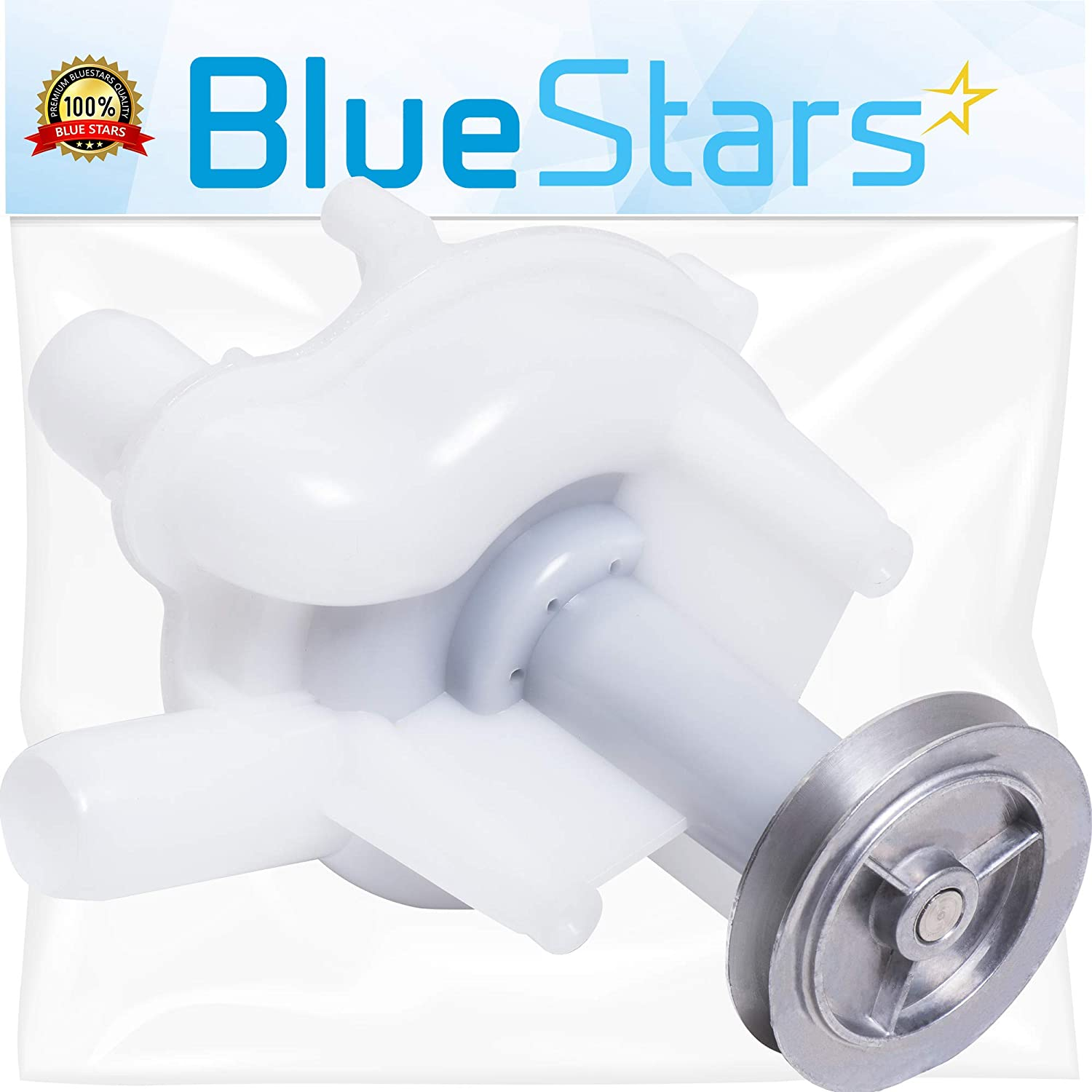 Ultra Durable 202203 Washer Drain Pump Replacement part by Blue Stars - Exact Fit for Whirlpool & Maytag Washers - Replaces 202203, 202540, 6-2022030, WP6-2022030 BlueStars