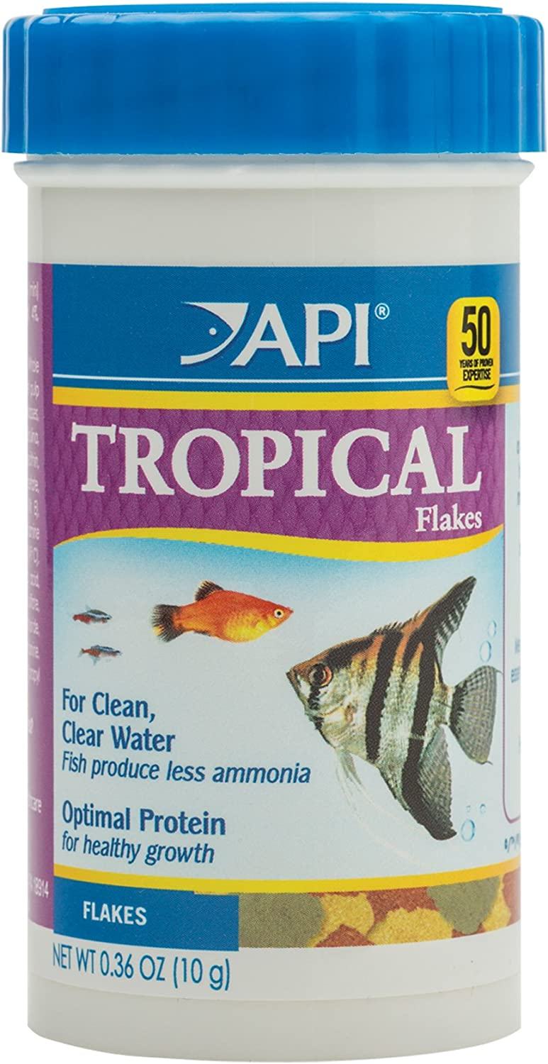 API TROPICAL FLAKES Fish Food .36-Ounce Container