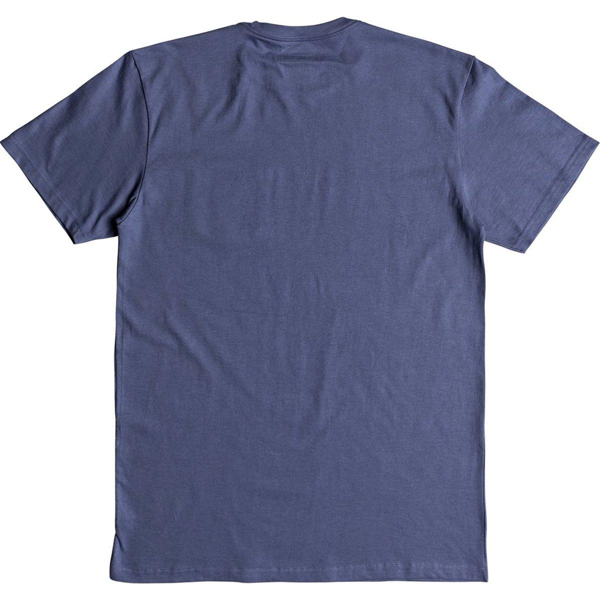 Quiksilver Men's Crosstown Tee Shirt, Bijou Blue, XL by Quiksilver (Image #2)