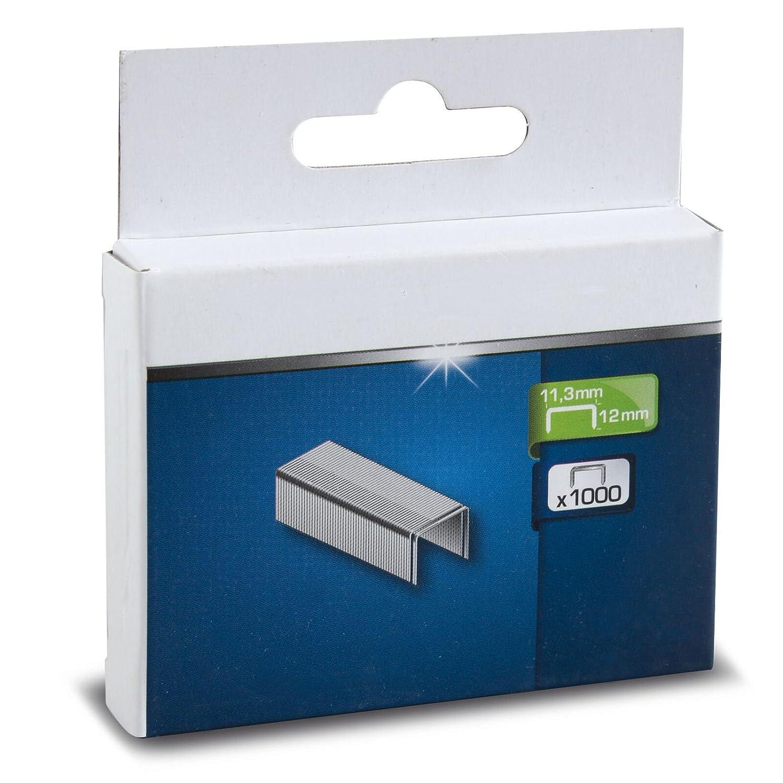 SECOTEC/® Heftklammer Tackerklammern Handtackerklammern 1000 St/ück H/öhe 10 mm | Typ J