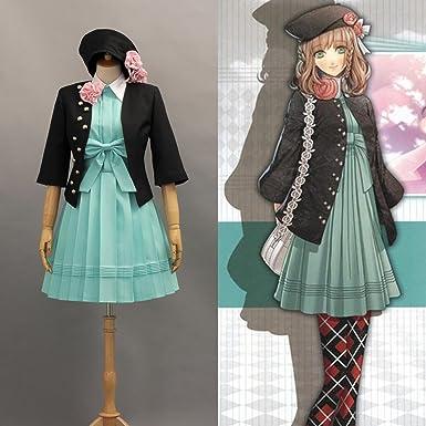Dessins Animes Manga Amnesia Heroine Uniforme Cosplay Costume Deguisement Sur Mesure Amazon Fr Vetements Et Accessoires