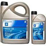 gm 5w30 5 30 dexos 2 fully synthetic engine motor oil long life 1 x 5 litres car. Black Bedroom Furniture Sets. Home Design Ideas
