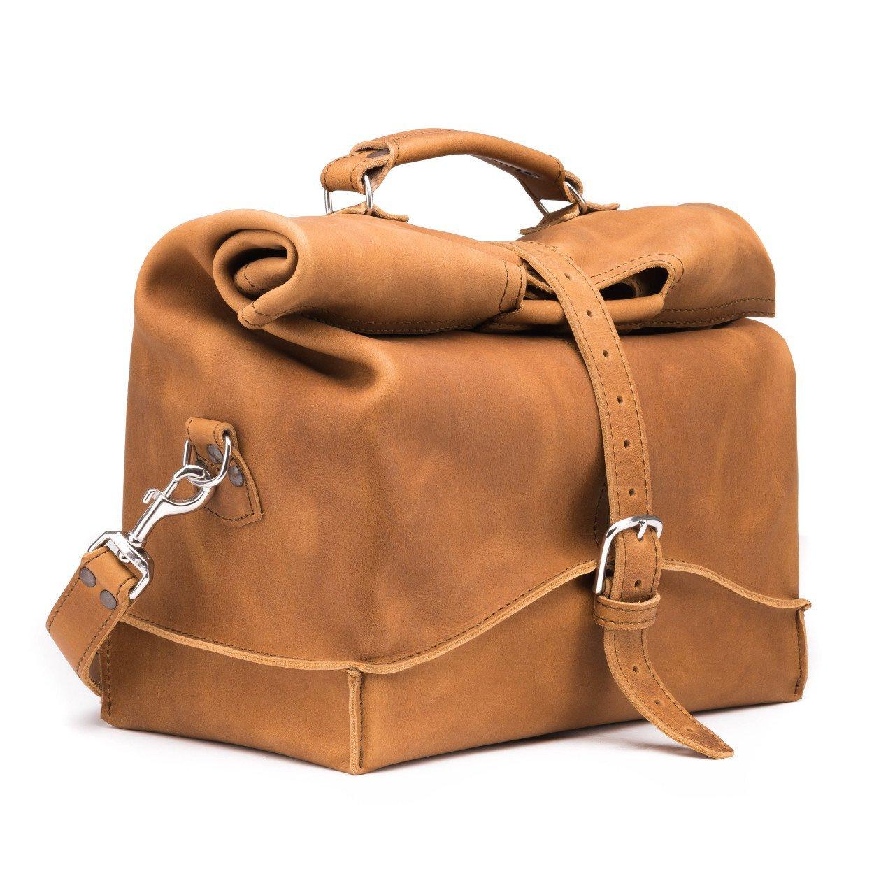Saddleback Leather Overnight Bag - Full Grain Leather Carry On - 100 Year Warranty