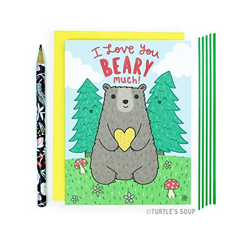 Amazon Com Bear Card Valentines Day Card National Parks Forest