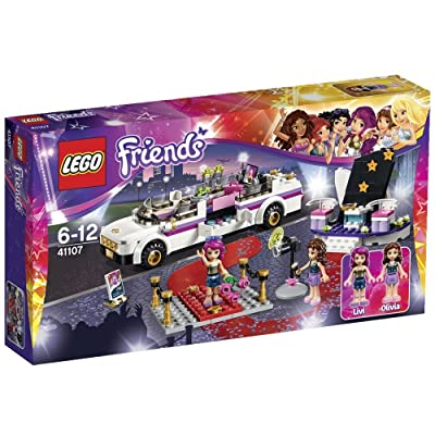 Lego Friends 41107 Pop Star Limo Set: Toys & Games
