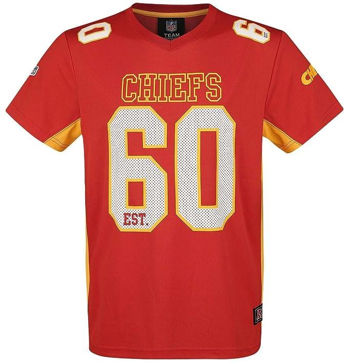 NFL Kansas City Chiefs Camiseta Rojo S  Amazon.es  Ropa y accesorios 9410f747469