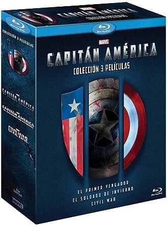 Tripack: Capitán América [Blu-ray]: Amazon.es: Chris Evans, Chris ...