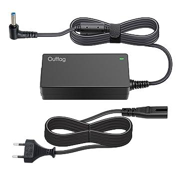 45 W 19,5 V 2,31 A AC Fuente de alimentación Cargador Compatible repuesto para ordenador portátil ...