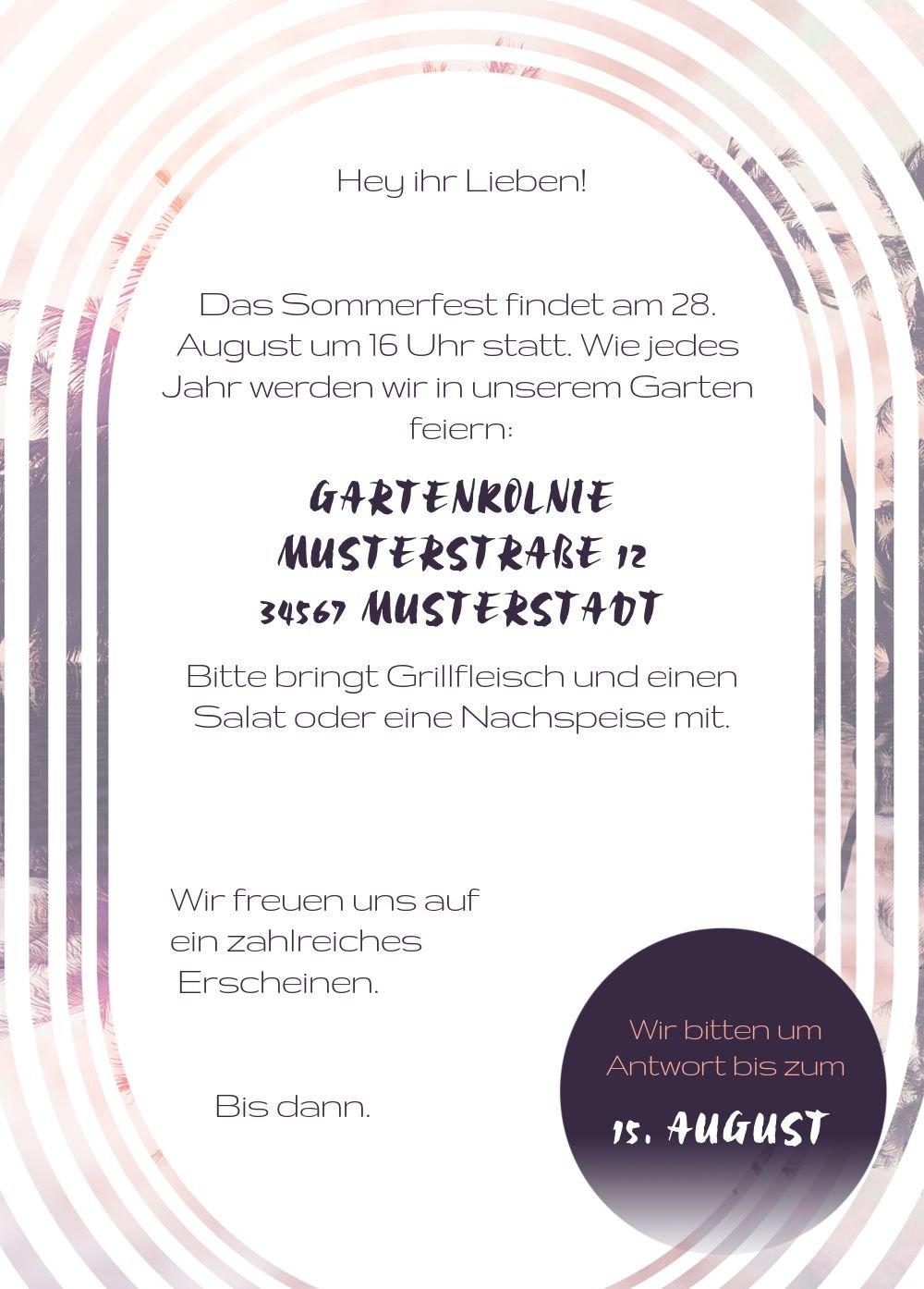 Einladung Sommerfest Sonnenaufgang, 60 Karten, HellgrauLila B0744BWZCW | Neuheit  Neuheit  Neuheit  | Feinbearbeitung  | Ausgezeichneter Wert  77bdd1