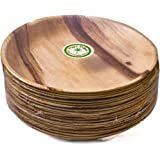 """Pure Palm Planet Friendly Plates; Upscale Disposable Dinnerware; All-Natural Compostable Plateware (10"""" Round) (25 pack)"""