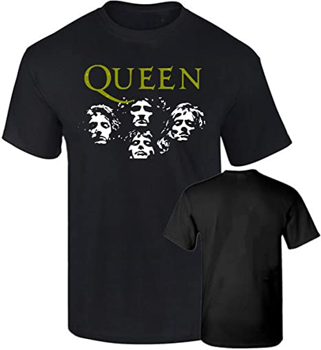 Camiseta Queen Grupo Rock Impresion Dorada Algodon Calidad 190grs: Amazon.es: Ropa y accesorios