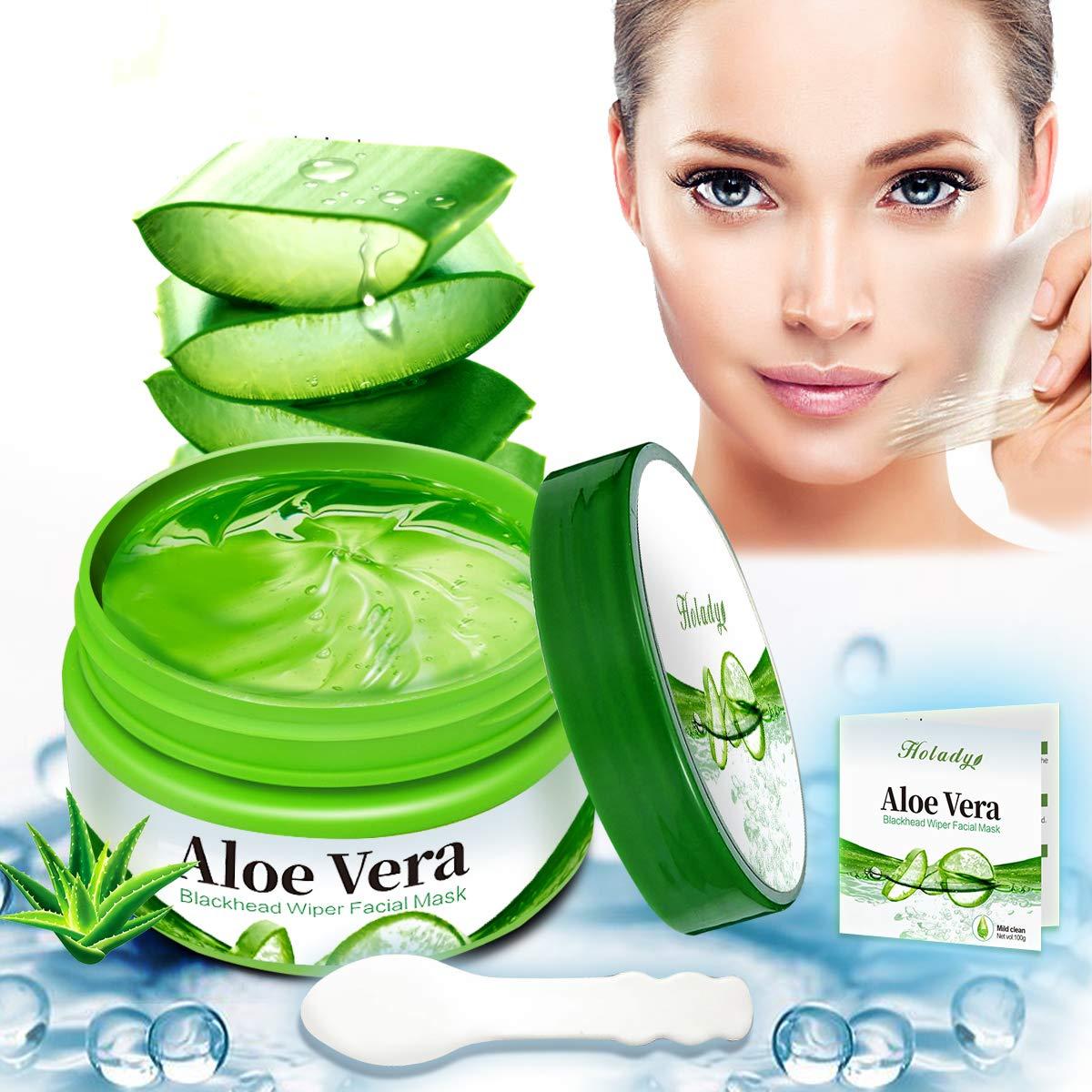 Aloe Vera Peel Off Blackhead Remover Mask-Facial Mask-Peel off Face Masks-Aloe Vera Extract Facial Mask- Oil Control - Facial Moisturizing - Face Whitening - Soothing & Moisture Skin